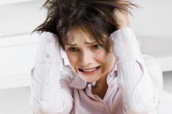 Стресс - причина запора