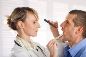 способы диагностики ангины