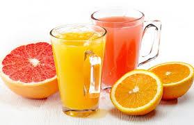 Свежие соки апельсина