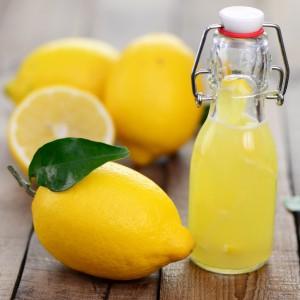 Лимонный сок для осветления растяжек