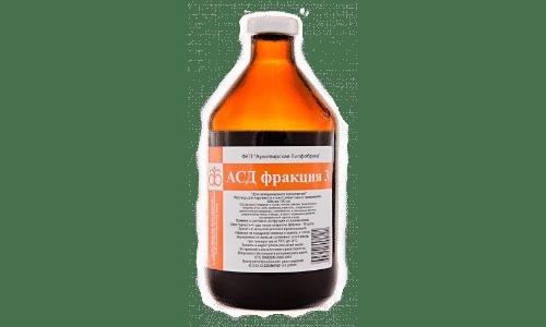 Раствор АСД помогает избавиться от дерматологических, сосудистых, гинекологических и прочих болезней