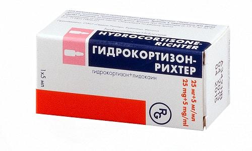 Гидрокортизон обладает системным противовоспалительным и антигистаминным действиями
