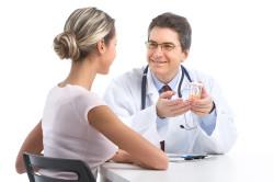Прием у врача по вопросу задержки месячных