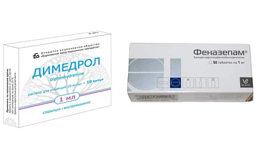 Димедрол или Феназепам выбирают пациенты для лечения при тревожных состояниях, в случае повышенной нервной возбудимости