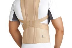 Ношение корсета для лечения деформации грудной клетки