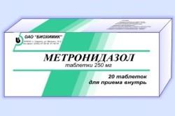 Метронидазол для лечения лямблий в крови