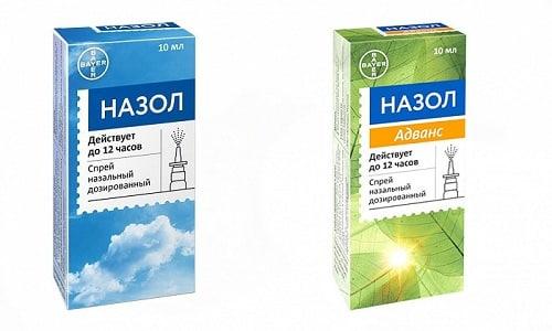 Назол или Назол Адванс применяются при насморке