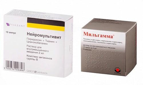 Нейромультивит или Мильгамма - это препараты, оказывающие действие на организм больного при различных дегенеративных и дистрофических процессах, воспалительных патологиях