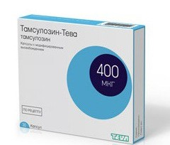 Тамсулозин в лечении простатита