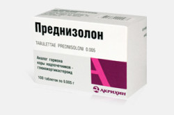 Преднизолон при лечении геморрагического васкулита