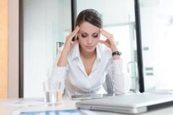 Стресс - причина задержки месячных
