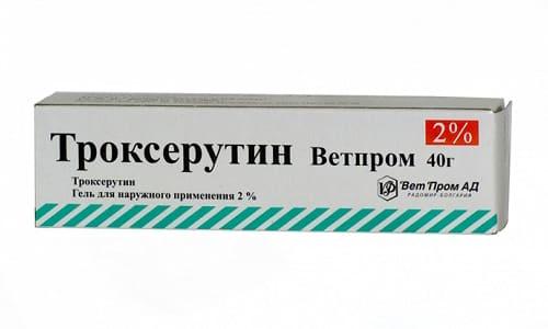Троксерутин дает хороший противоотечный и противовоспалительный эффект при лечении геморроя